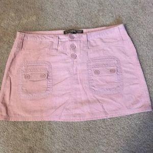 Pink Fossil Mini Skirt